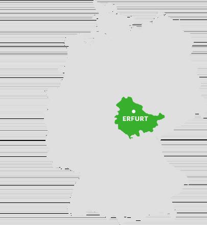 Thüringen Karte