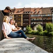 In Erfurt der Hauptstadt von Thüringen