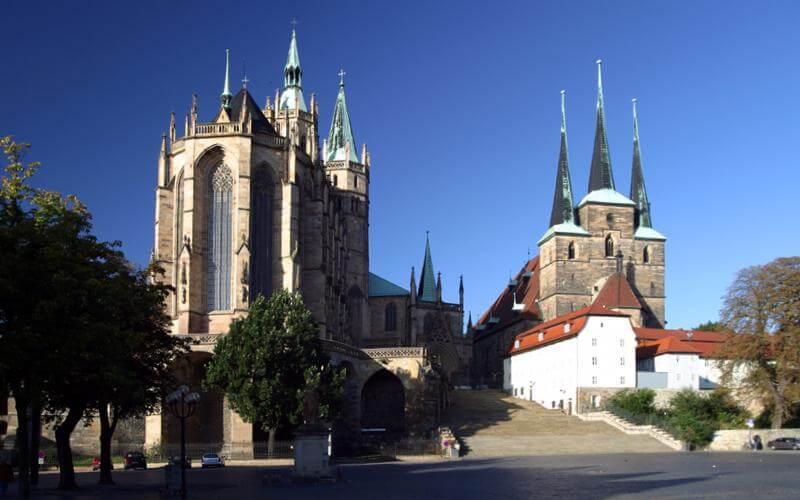 Erfurt – Landeshauptstadt von Thüringen