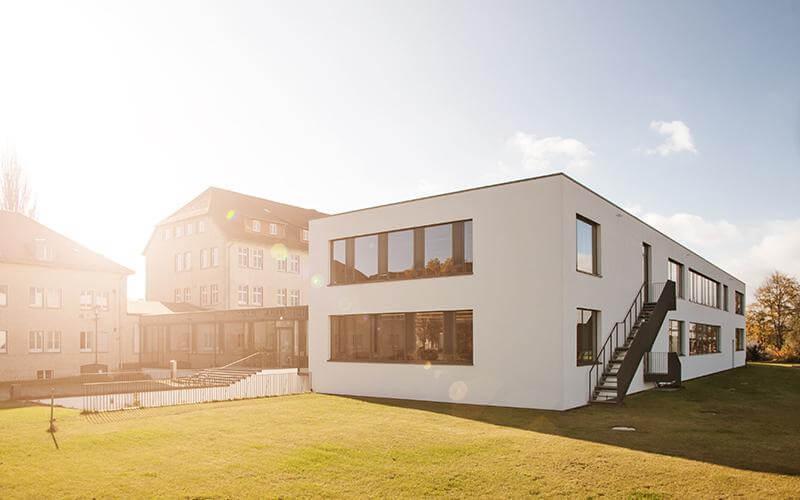 Neues Hörsaalgebäude der Hochschule am Campus Leipziger Straße
