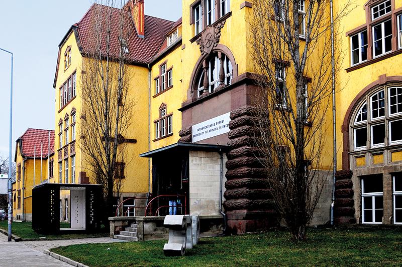 Gebäude der Fachrichtungen Architektur sowie Stadt- und Raumplanung