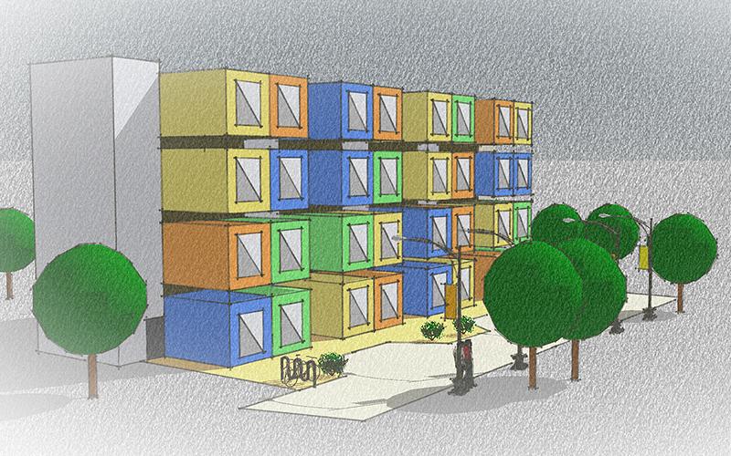 Wie werden wir zukünftig leben und wohnen? Moderne Architektur im Städtebau.