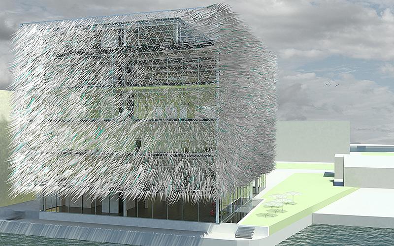 """Das """"haarige"""" Haus  - innovative Architektur und Energiegewinnung"""