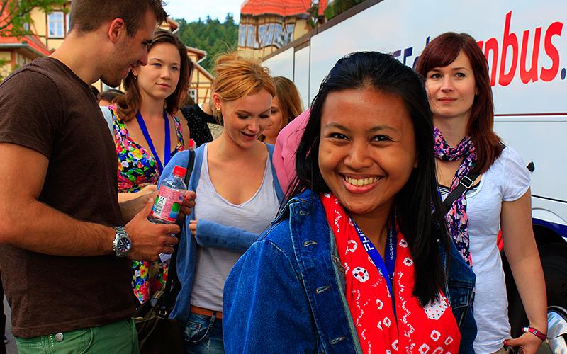International Summer School - Studierende aus aller Welt zu Besuch